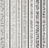 MIRROR GREY INSERTO LINES декор 250*750