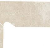 Cotto Crema Cokol Schodowy Dwuelementowy Lewy 2*300*81
