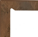 Semir Beige Cokol Dwuelementowy Schodowy (lewy) 81*300