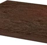 Semir Brown Stopnica Ryflona Struktura 300*300