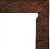 Semir Brown Cokol Dwuelementowy Schodowy (prawy) 81*300