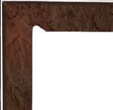 Semir Brown Cokol Dwuelementowy Schodowy (lewy) 81*300