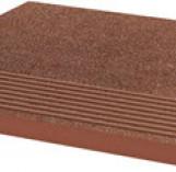 Taurus Brown Stopnica Ryflona Struktura 300*300