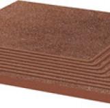 Taurus Brown Stopnica Ryflowana Corner Struktura 300*300