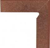 Taurus Brown Cokol Dwuelementowy Schodowy (prawy) 81*300