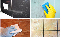 Как очистить керамическую плитку от загрязнений