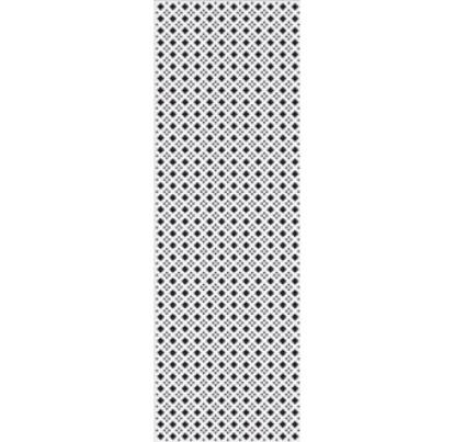 FANCY BLACK GLOSSY COVEBASE декор 230*300